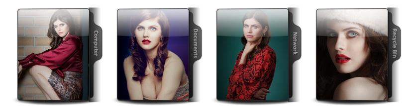 Alexandra Daddario Theme Icons