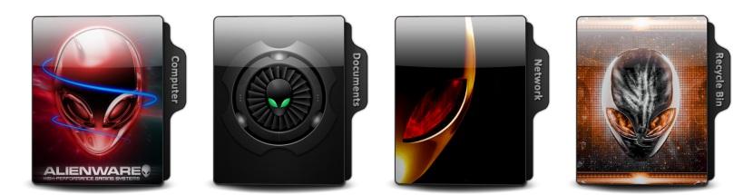 Alienware Theme Icons