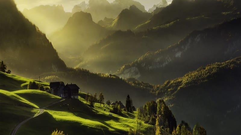 Alps Mountain Theme Preview Image