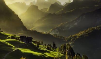 Alps Mountain Theme