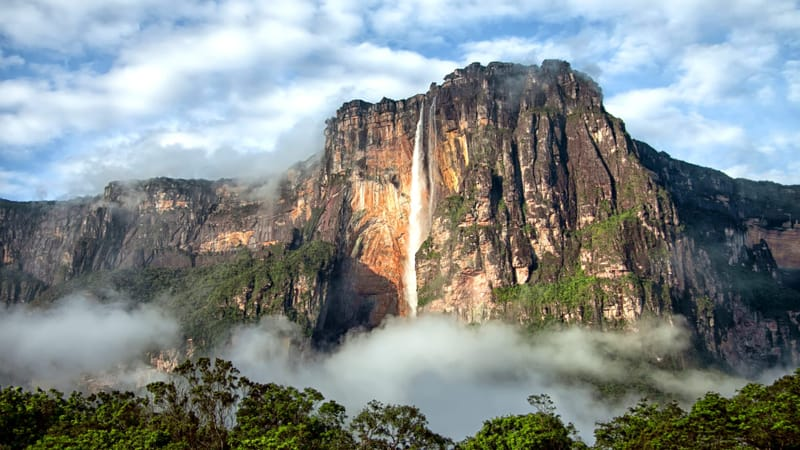 Angel Falls Theme Preview Image