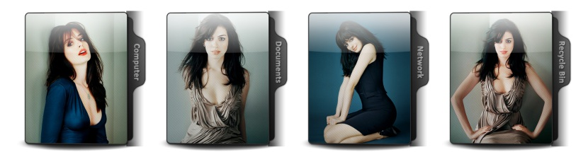 Anne Hathaway Theme Icons