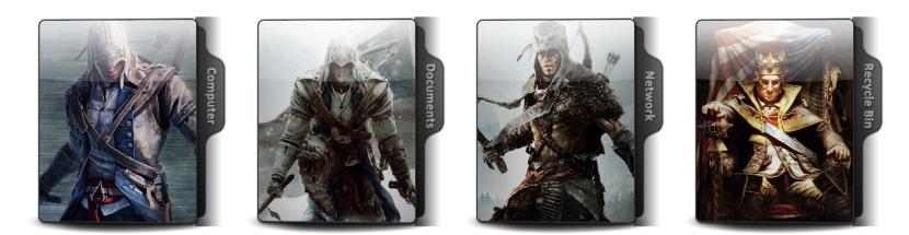 Assassins Creed III Theme Icons