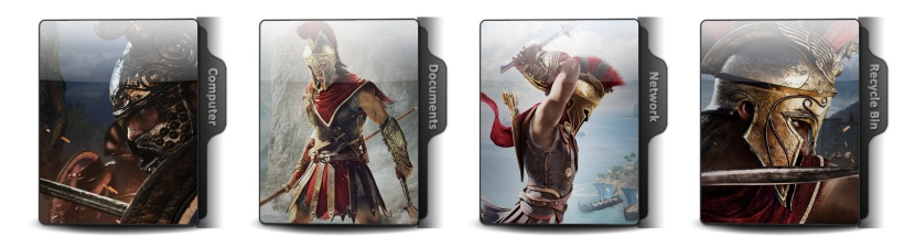 Assassin's Creed Odyssey Theme Icons