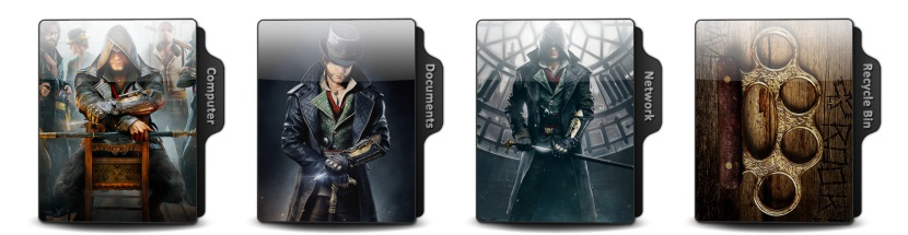 Assassins Creed Syndicate Theme Icons