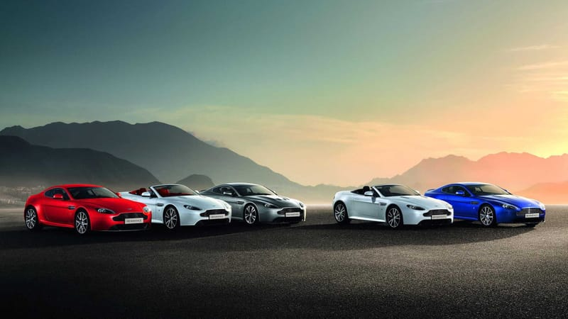Aston Martin Vantage Theme Preview Image