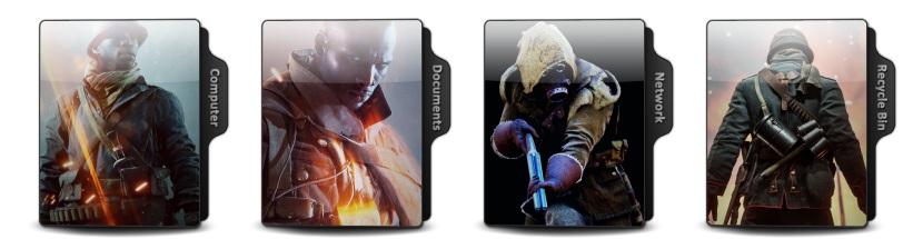 Battlefield 1 Theme Icons