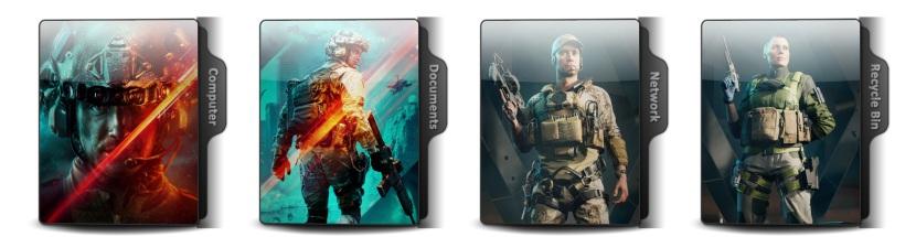 Battlefield 2042 Theme Icons