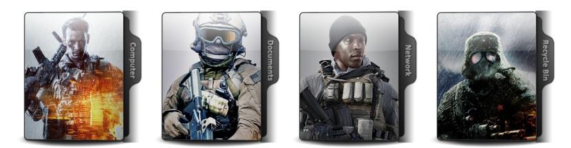 Battlefield 4 Theme Icons
