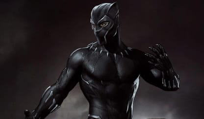 Black Panther Theme Preview Image