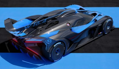 Bugatti Bolide Theme Preview Image