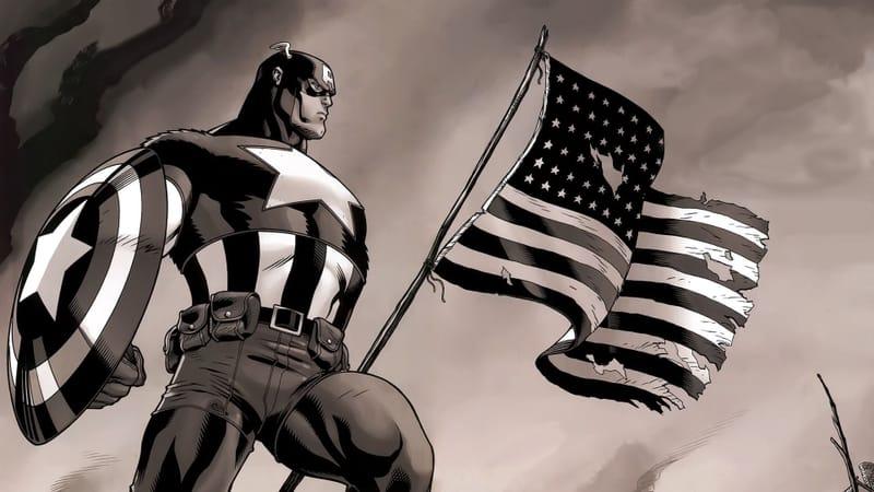 Captain America Comics Theme Preview Image