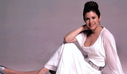 Carrie Fisher Theme Preview Image