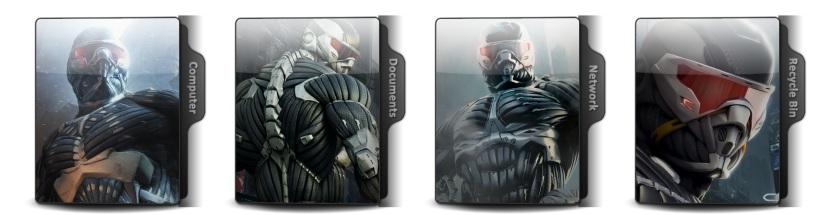 Crysis Theme Icons