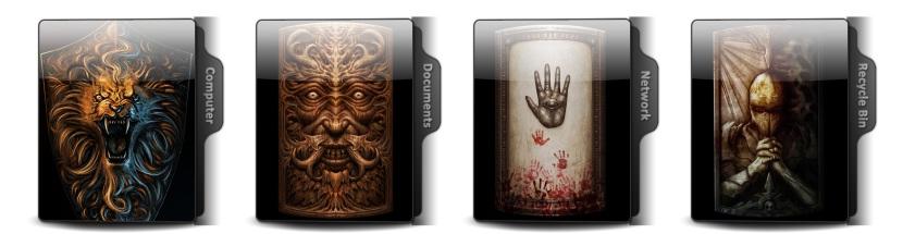 Dark Souls III Theme Icons
