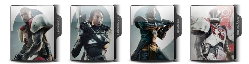 Destiny 2 Theme Icons