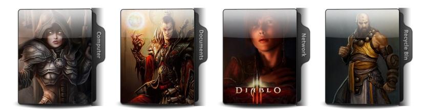 Diablo III Theme Icons