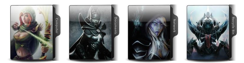 DotA 2 Theme Icons