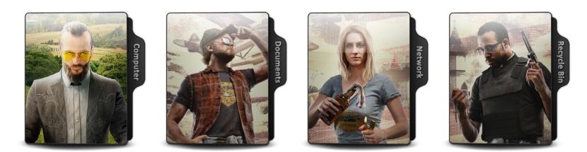 Far Cry 5 Theme Icons