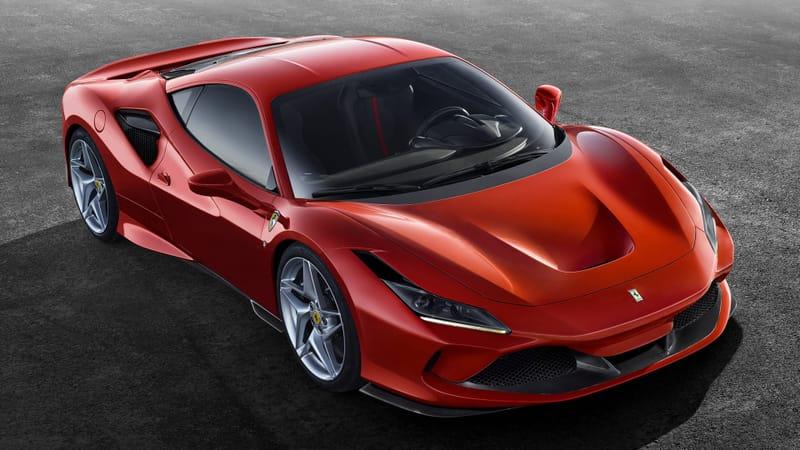 Ferrari F8 Tributo Theme Preview Image