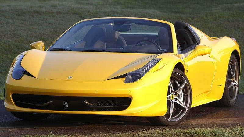 Ferrari Theme Preview Image
