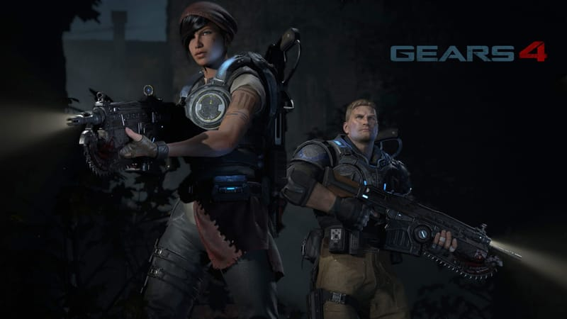 Gears Of War 4 Theme Preview Image