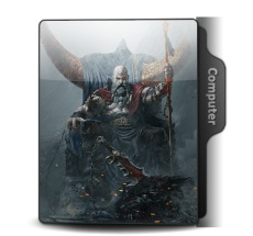 God Of War Ragnarok Theme Icons