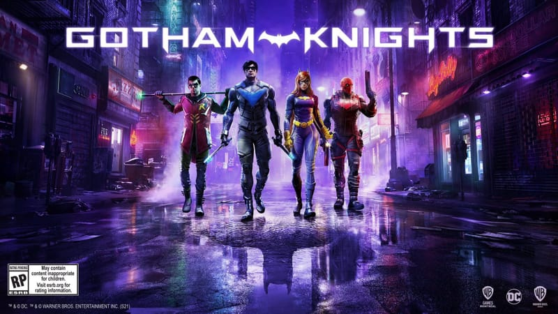 Gotham Knights Theme Preview Image