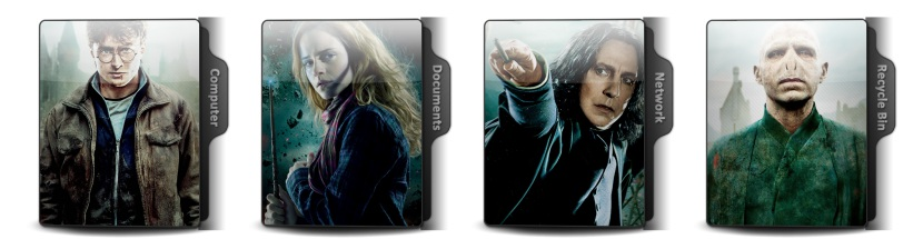 Harry Potter And The Order Of The Phoenix Theme Icons