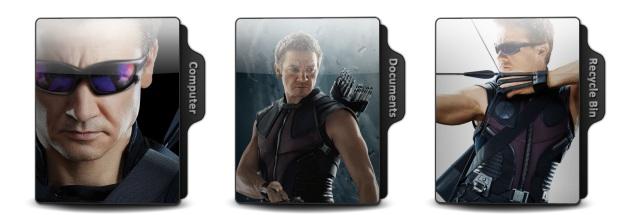 Hawkeye Theme Icons