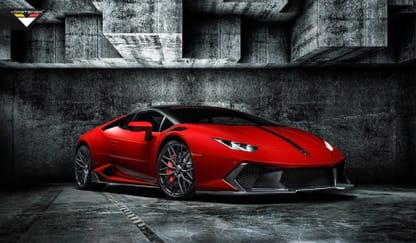 Lamborghini Huracan Theme