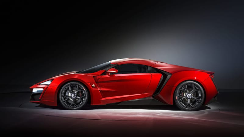 Lykan Hypersport Theme Preview Image
