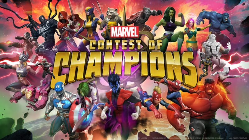 MARVEL Contest Of Champions Theme Preview Image