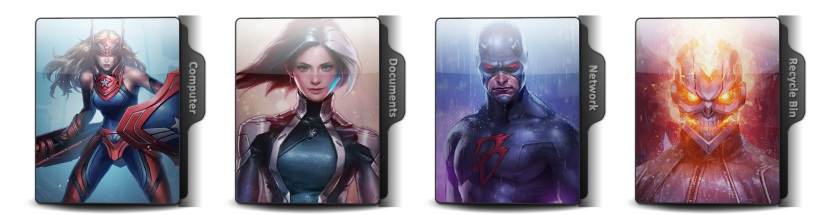 Marvel Future Fight Theme Icons