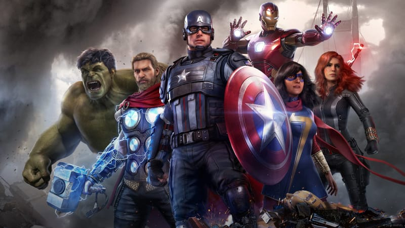 Marvels Avengers Theme Preview Image