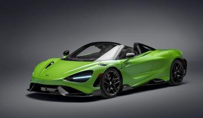 McLaren 765 LT Spider Theme