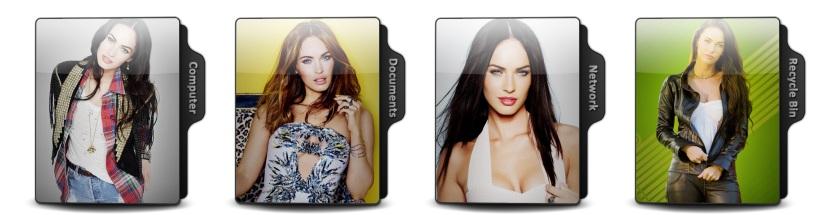 Megan Fox Theme Icons
