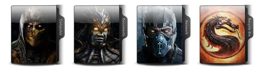 Mortal Kombat X Theme Icons