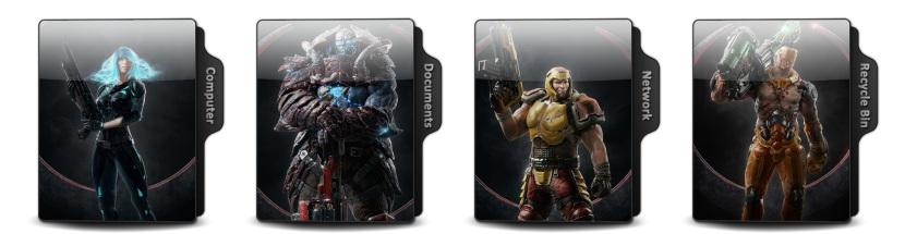 Quake Champions Theme Icons