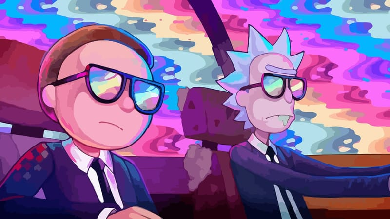 Rick And Morty Theme Preview Image