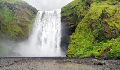 Skogafoss Waterfall Theme