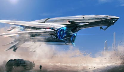 Sci-Fi Spaceship Theme