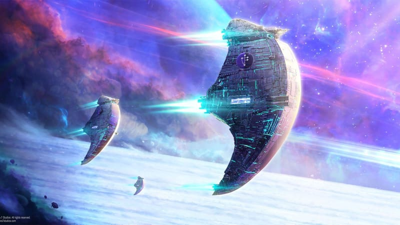 Sci-Fi Spaceship Theme Preview Image