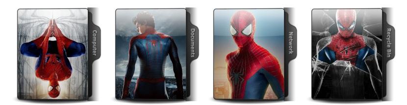 The Amazing Spider Man Theme Icons