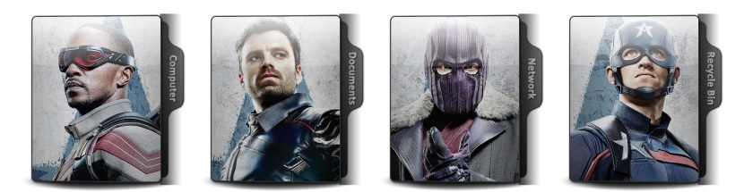 The Falcon And The Winter Soldier Theme Icons