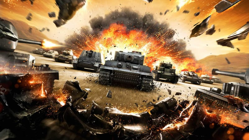 World Of Tanks Theme Preview Image