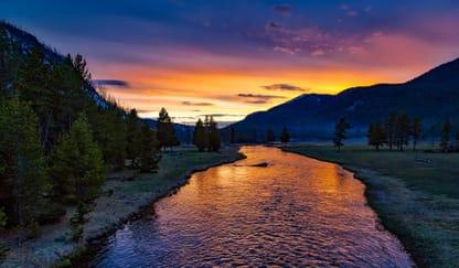 Yellowstone National Park Theme